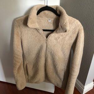 Uniqlo Fluffy Yarn Fleece Full Zip Jacket